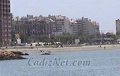 Cadiz:Playa de Poniente