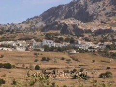 Cadiz:Vista de Benaocaz, donde se han encontrado materiales neolíticos de gran interés