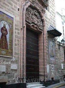 Cadiz:Portada. Iglesia de San Lorenzo
