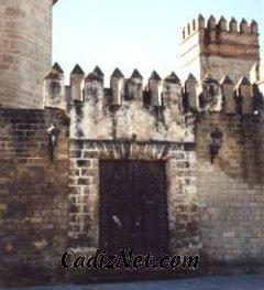Cadiz:Entrada del Castillo