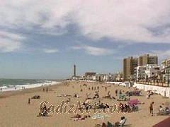 Cadiz:Playa de Regla