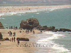 Cadiz:Playa Fuente del Gallo
