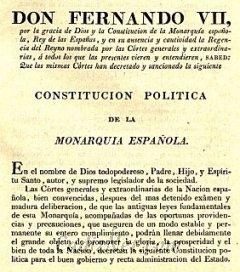 Cadiz:Constitución de 1812