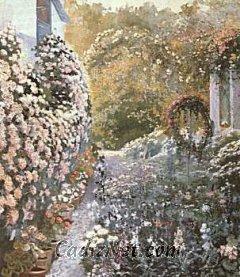 Cadiz:El jardín del Olivillo, de Felipe Abarzuza