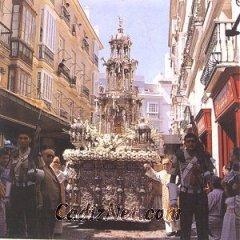 Cadiz:La Custodia del Corpus Christi procesionando en las calles de Cádiz