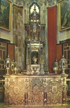 Cadiz:La custodia del Corpus Christi se encuentra expuesta en la Catedral de Cádiz
