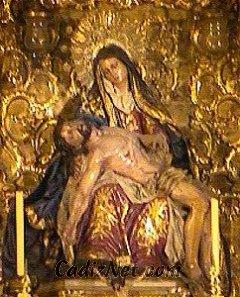 Cadiz:Nuestra Señora de la Piedad. Retablo Mayor