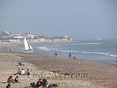 Cadiz:Playa de Santa Catalina