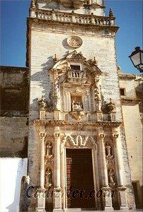 Cadiz:Portada. Iglesia Parroquial de San Pedro