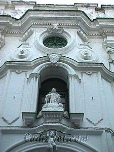 Cadiz:Detalle de la fachada