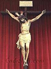 Cadiz:Cristo del Perdón y Misericordia. Cofradía de la Borriquita.