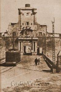 Cadiz:Puerta de Tierra (1910)