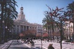 Cadiz:Vista de la actual plaza