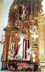 Cadiz:Los Titulares en su retablo de la Iglesia Mayor