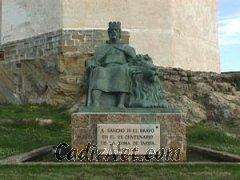 Cadiz:Monumento a Sancho IV