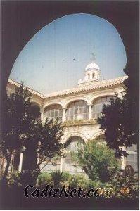 Cadiz:Antiguo claustro del convento